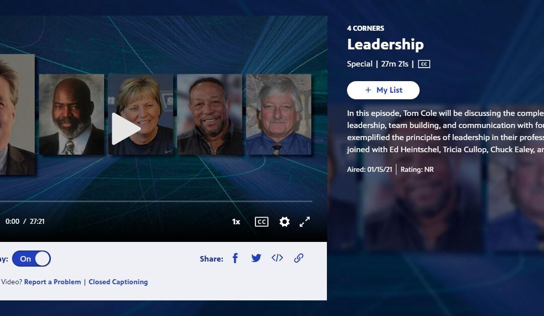 Leadership Interview With Chuck Ealey